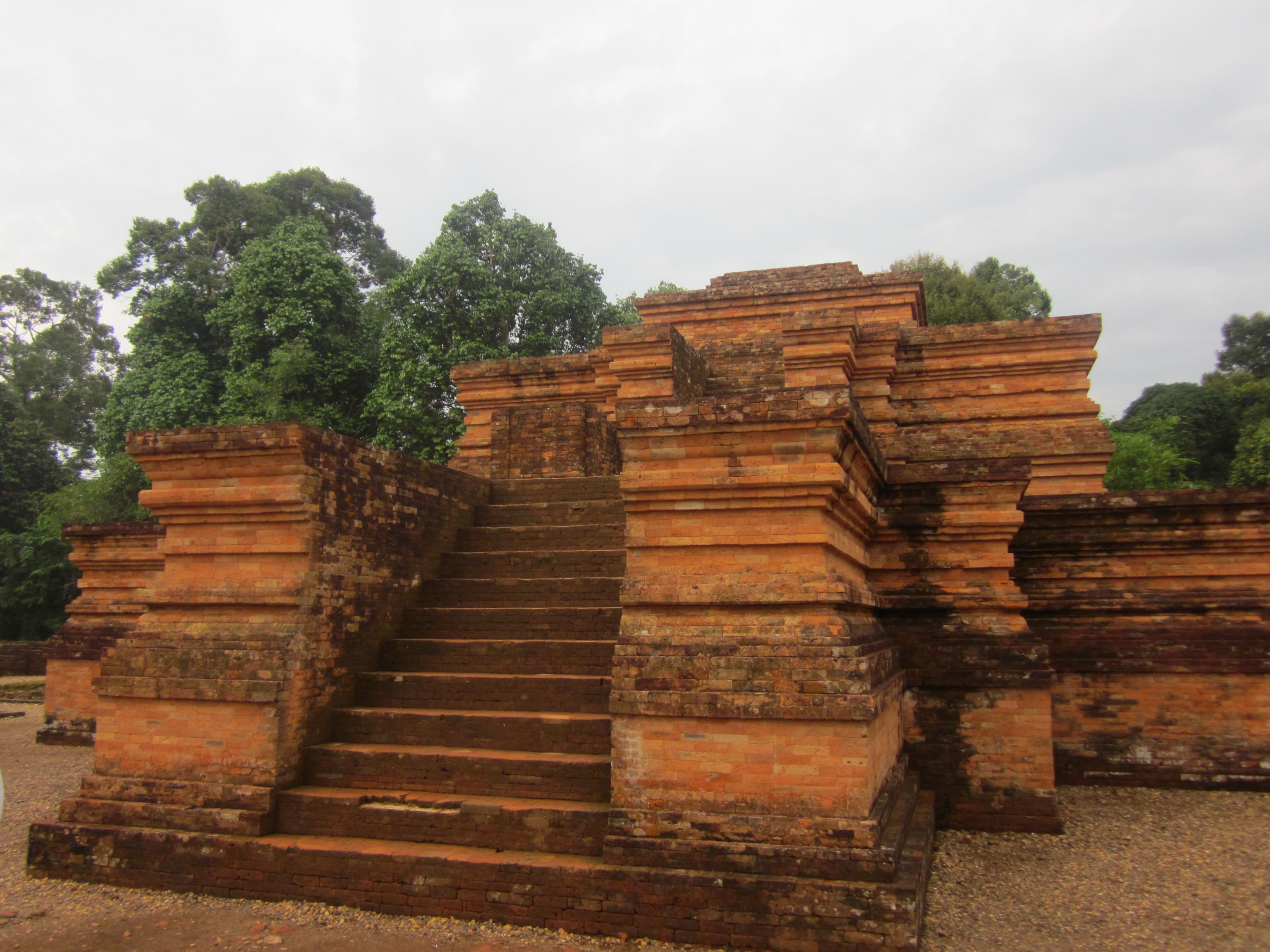 kota buddha kuno di muaro jambi