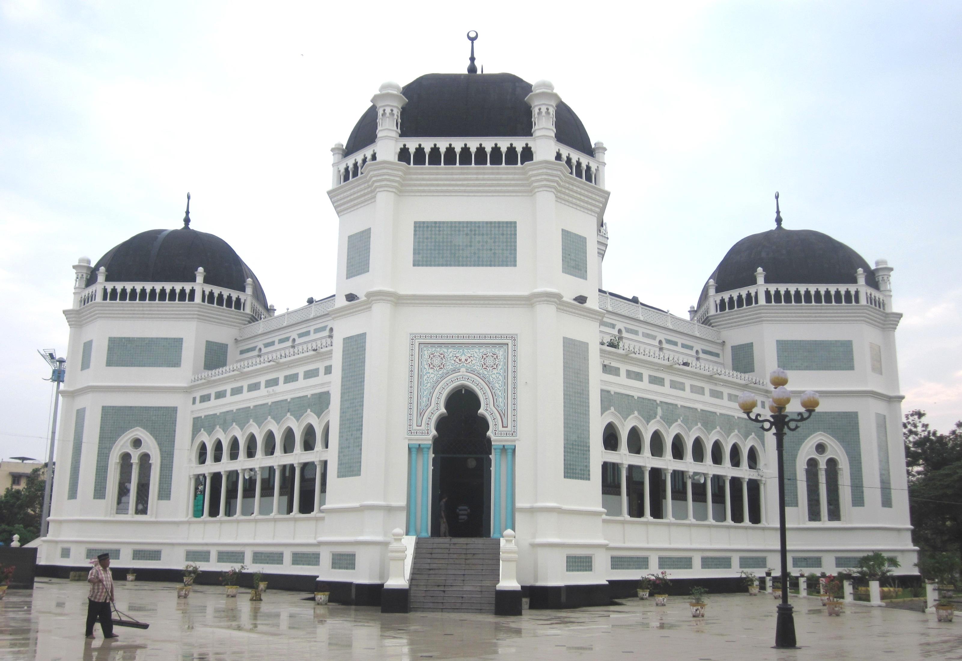 7 Masjid Terindah Di Sumatera Melihat Negeri Sendiri